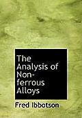 The Analysis of Non-Ferrous Alloys