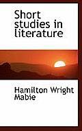 Short Studies in Literature