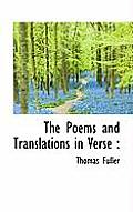 The Poems and Translations in Verse