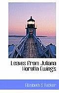 Leaves from Juliana Horatia Ewing's