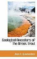Geological Ancestors of the Brook Trout