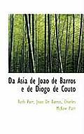 Da Asia de Jo O de Barros E de Diogo de Couto