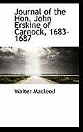 Journal of the Hon. John Erskine of Carnock, 1683-1687