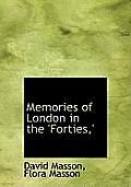Memories of London in the 'Forties, '