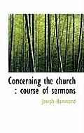 Concerning the Church: Course of Sermons