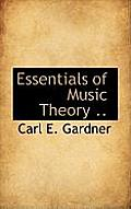 Essentials of Music Theory ..