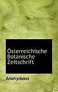Osterreichische Botanische Zeitschrift