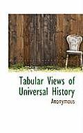 Tabular Views of Universal History