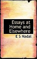 Essays at Home and Elsewhere