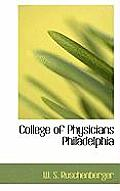 College of Physicians Philadelphia