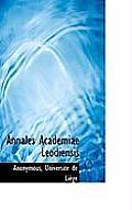 Annales Academiae Leodiensis