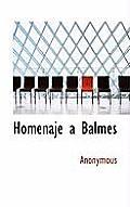Homenaje a Balmes