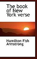 The Book of New York Verse
