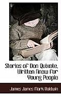 Stories of Don Quixote, Written Anew for Young People