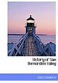 History of San Bernardino Valley