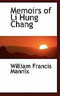 Memoirs of Li Hung Chang