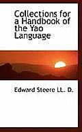 Collections for a Handbook of the Yao Language