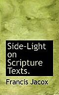 Side-Light on Scripture Texts.