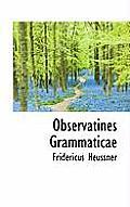 Observatines Grammaticae