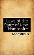 Laws of the State of New Hampshire