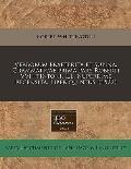 Verborum Praeterita Et Supina. Grammaticae Prima Pars Roberti Vvhitintoni. L.L. Nuperrime Recensita. Liber Quintus. (1522)