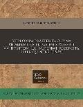 Verborum Praeterita Supina Grammatice Prima Pars Roberti Vvhitintoni L.L. Nuperime Recensita. Liber Quintus. (1525)