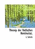 Theorip Der Vielfachen Kontinuitat.