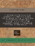 Verborum Praeterita & Supina Grammaticae Prima Pars Roberti Vvhitintoni L. Nuperrime Recensita, Liber Quintus: de Verborum Praeteritis & Supinis Cu[m]