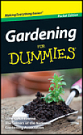 Gardening for Dummies Pocket Ed