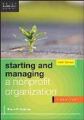 Starting & Managing a Nonprofit Organization A Legal Guide