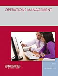 Operations Management (Custom) (5TH 12 Edition)
