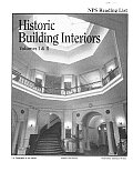 Historic Building Interiors: An Annotated Bibliography