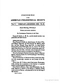Proceedings, American Philosophical Society (Vol. 5, No. 48)