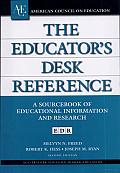 The Educator's Desk Reference (EDR): A Sourcebook of Educational Information and Research