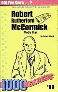 Robert R McCormick