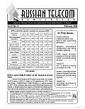 Russian Telecom Newsletter