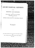 Court-Martial Reports