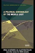 Political Chronology of the Middle East