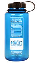 Powells BPA Free Nalgene Bottle Literature Blue