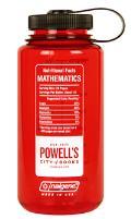 Powell's Mathematics Nalgene Bottle (Red)