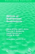 Reform of Metropolitan Governments