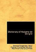 Dictionary of Madame de S Vign