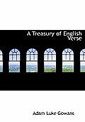 A Treasury of English Verse