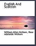 English and Scottish