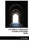 Les Po Tes Franciscains En Italie Au Reizi Me Si Cle