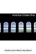 American Citizen Ship