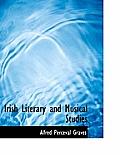 Irish Literary and Musical Studies
