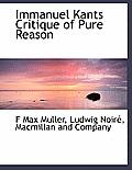 Immanuel Kants Critique of Pure Reason