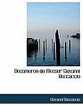 Decameron de Messer Giovanni Boccaccio