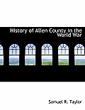 History of Allen County in the World War